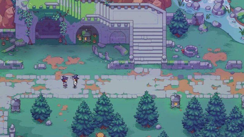 Появились новые скриншоты Witchbrook