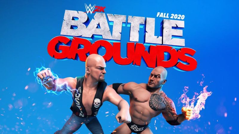 2K Games анонсировали WWE 2K Battlegrounds