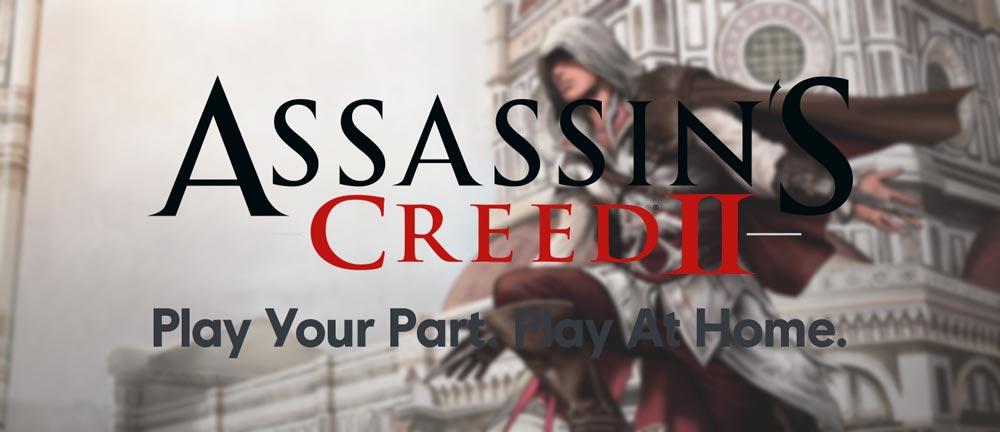 Ubisoft раздает Assassins Creed 2 бесплатно