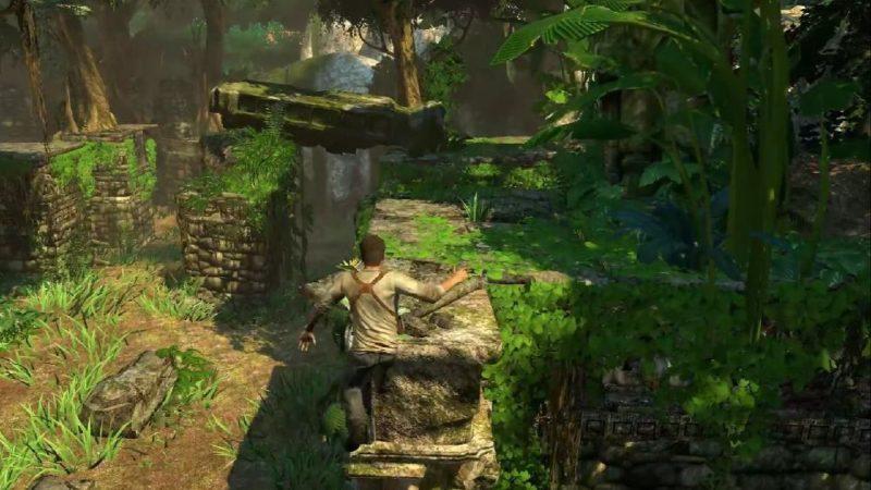 Uncharted: Drake's Fortune запустили на ПК с трассировкой лучей