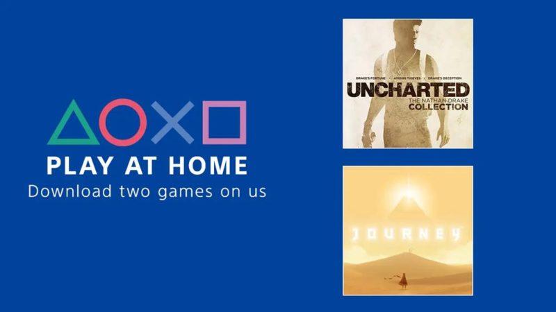 Sony даст поиграть бесплатно в Uncharted: The Nathan Drake Collection и Journey
