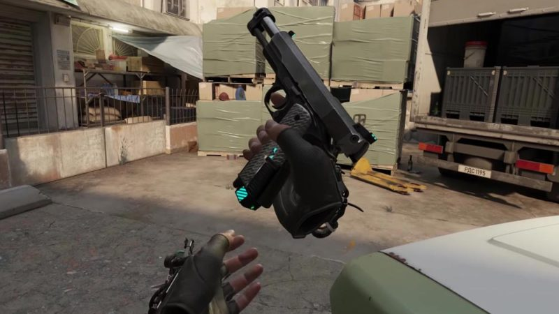 Half-Life: Alyx shooting