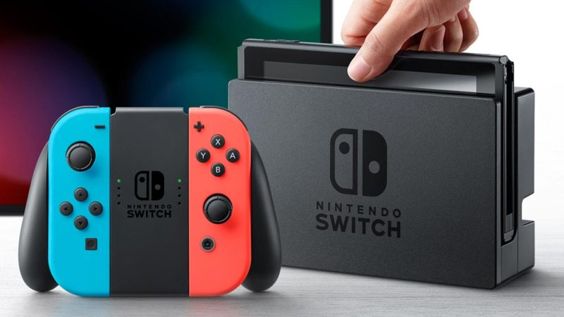 Nintendo Switch two type of using