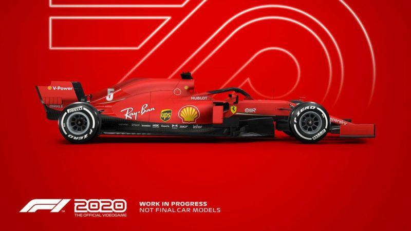 F1 2020 Ferarri
