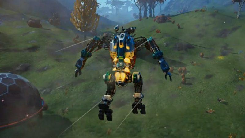 В No Man's Sky появятся механические роботы