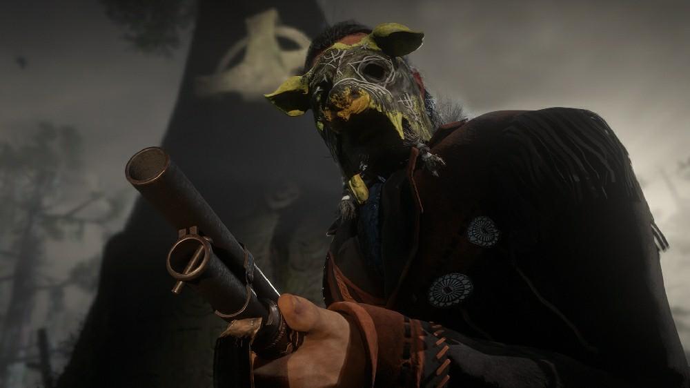 Заберите ужасную маску в свою коллекцию
