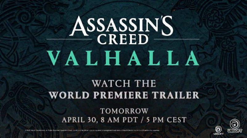 Ubisoft представила новую Assassin's Creed Valhalla
