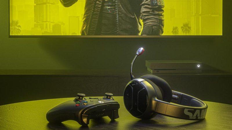 SteelSeries выпустила гарнитуру в стиле Cyberpunk 2077