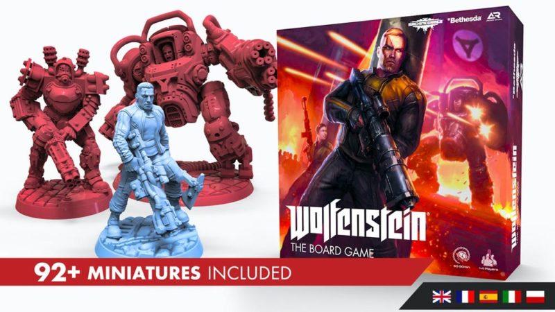 На Kickstarter собирают деньги на настолку по Wolfenstein