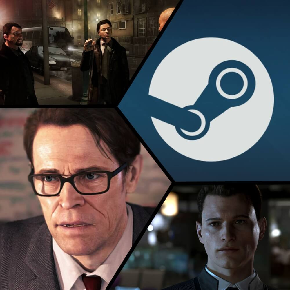 Страницы Heavy Rain, Beyond: Two Souls и Detroit: Become Human появились в Steam