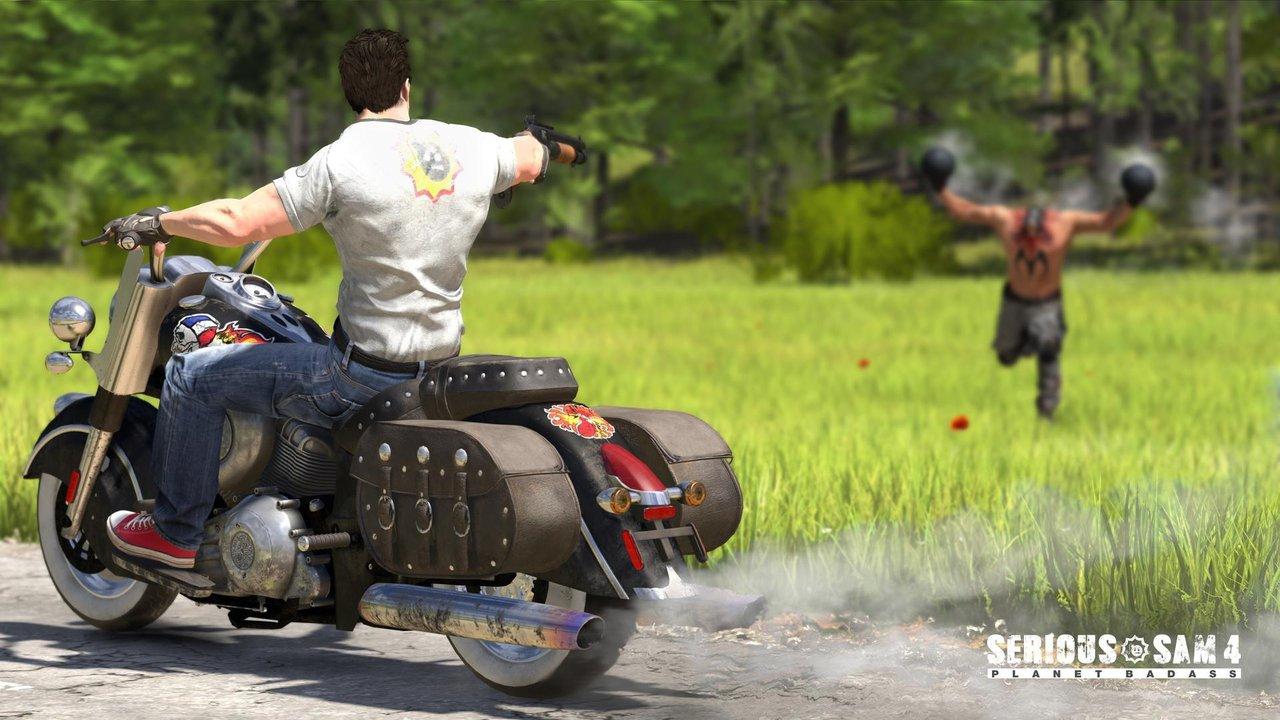 Devolver Digital показала новый трейлер Serious Sam 4