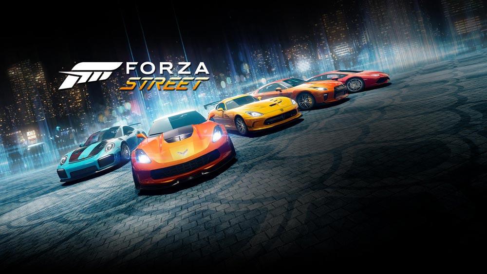 Forza Street мчится на ваши смартфоны