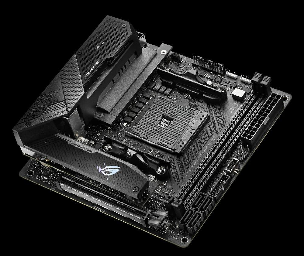 ASUS представляет материнские платы на базе чипсета AMD B550