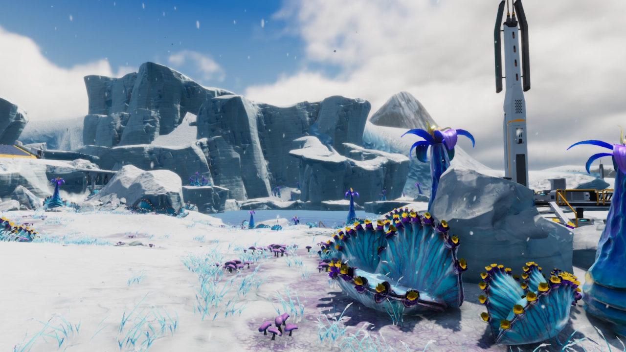 Новое обновление Frostbite для Subnautica: Below Zero