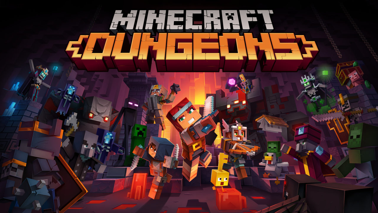 Minecraft Dungeons вышла