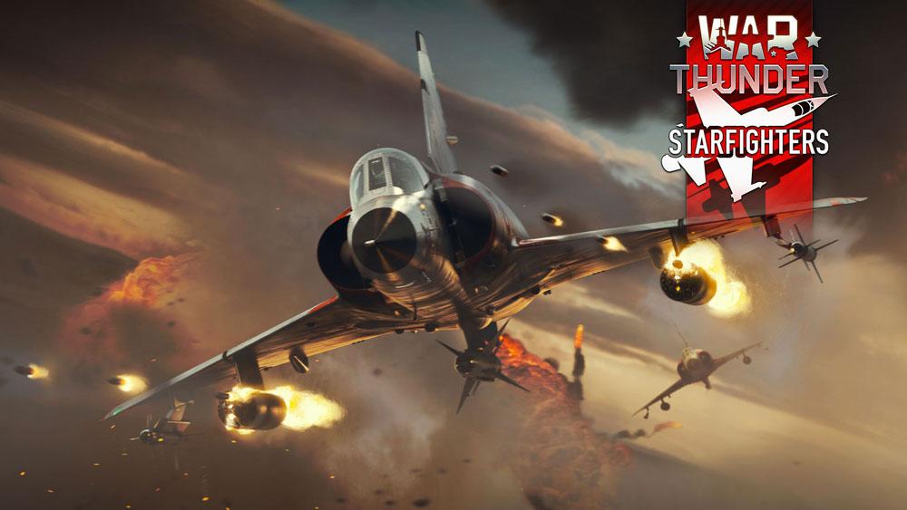 Легендарные сверхзвуковые истребители и кросс-консольный мультиплеер приходят в War Thunder