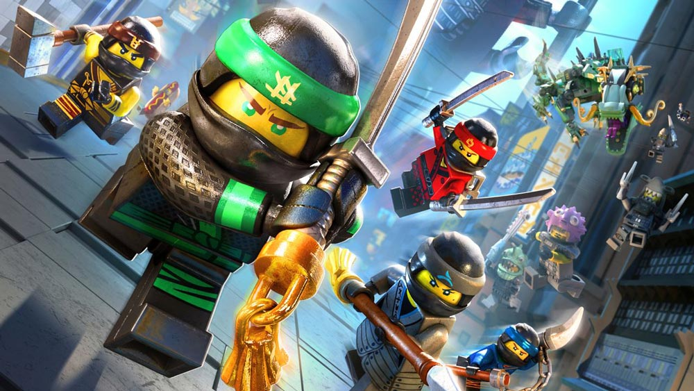 В Steam бесплатно раздают The LEGO NINJAGO Movie Video Game