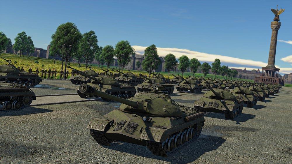Виртуальный Парад Победы пройдет в игре War Thunder