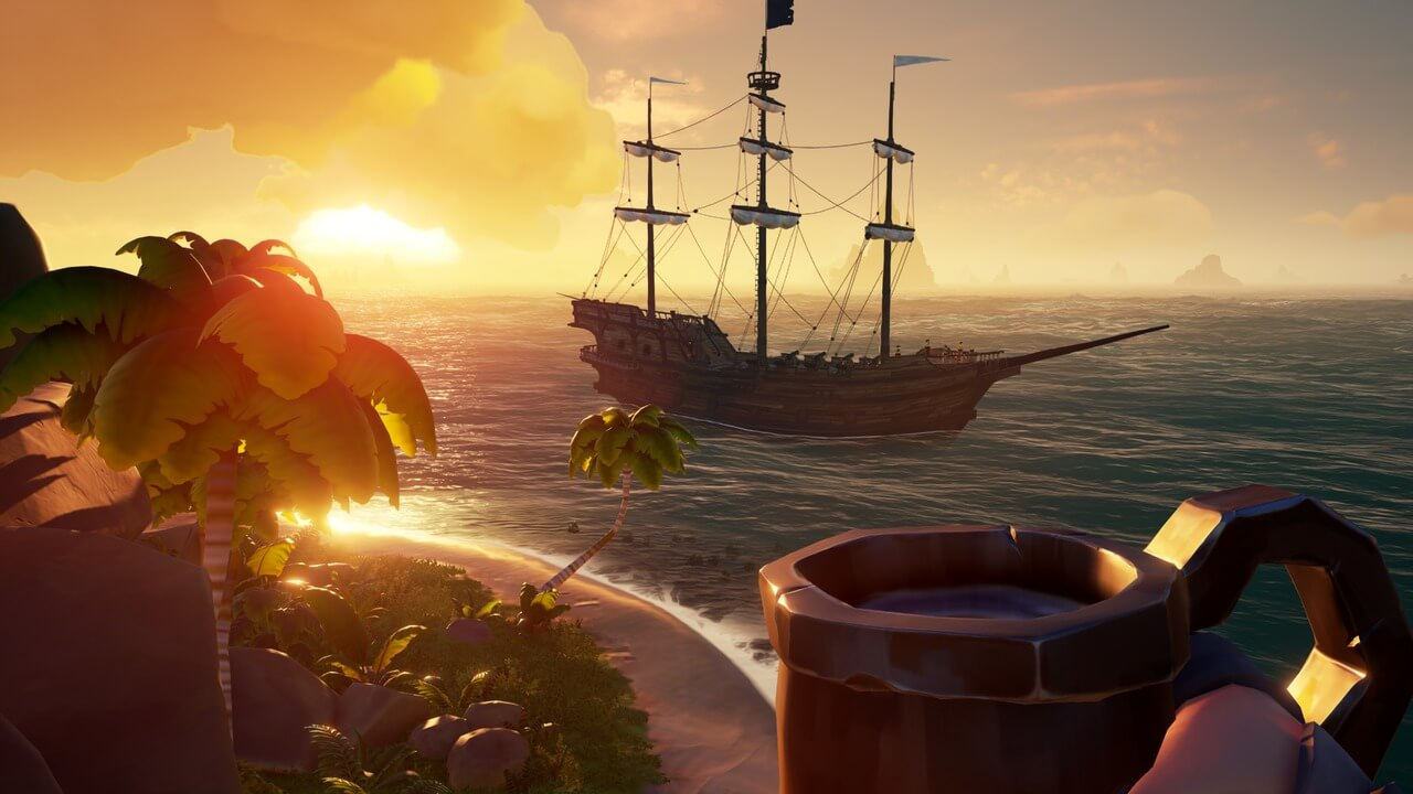 Sea of Thieves вышла в Steam