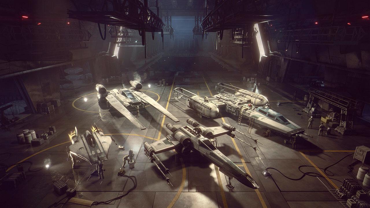 EA Motive представила дебютный трейлер новой игры по Звёздным войнам – Squadrons