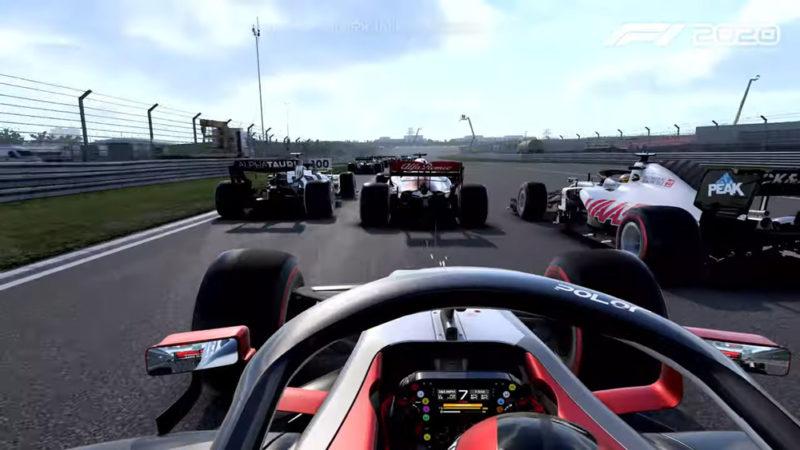 Codemasters показала режим создания команды в F1 2020