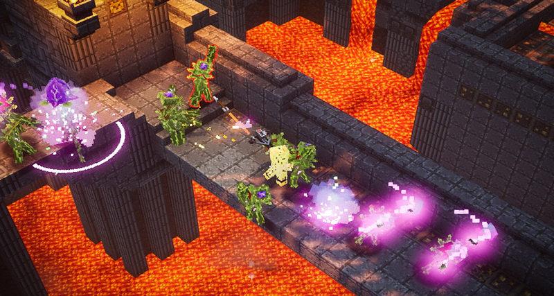 На следующей неделе выйдет первое DLC для Minecraft Dungeons