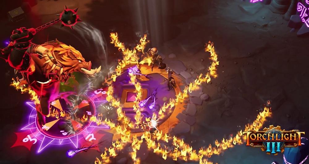 Torchlight III для PC доступна в раннем доступе Steam