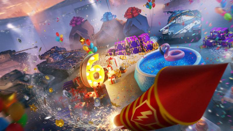 World of Tanks Blitz отмечает шестой день рождения