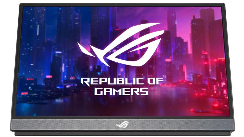 ASUS Republic of Gamers представляет Strix XG17AHP
