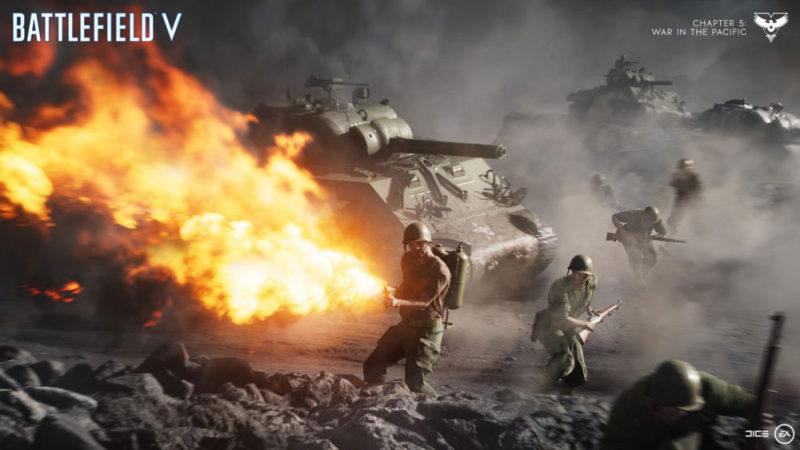 Battlefield V получит сегодня обновление с новыми картами и оружием