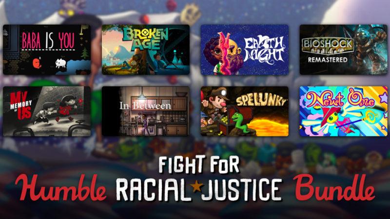 На Humble Bundle продают новую подборку посвященную борьбе с расизмом