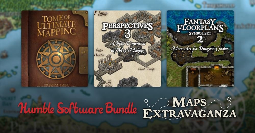На Humble Bundle продают набор для создания карт для игр