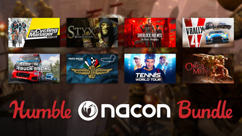 В Humble Bundle продают набор издательства Nacon