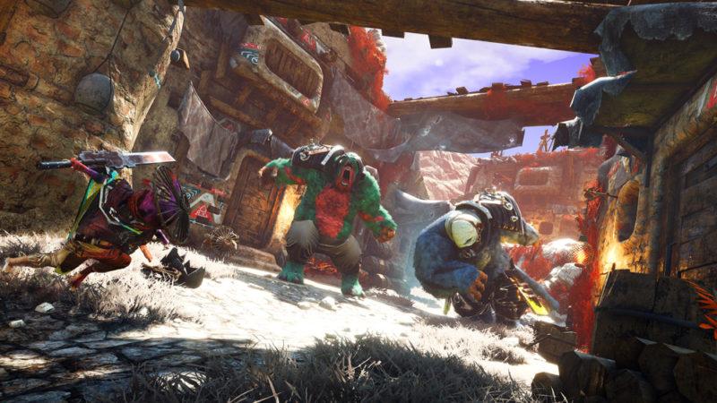 Новый геймплей Biomutant