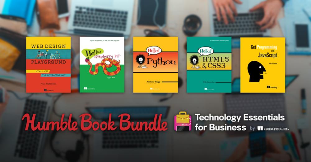 В Humble Bundle продают подборку весьма полезных книг