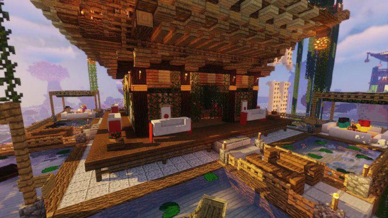 """В Minecraft построили мир """"Тануки"""""""