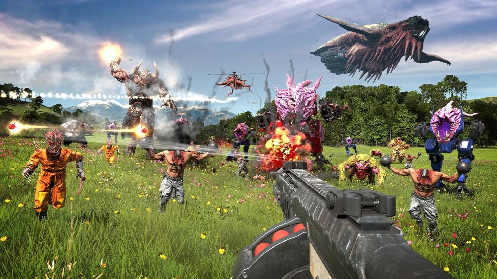 Devolver Digital представила новый геймплейный трейлер Serious Sam 4