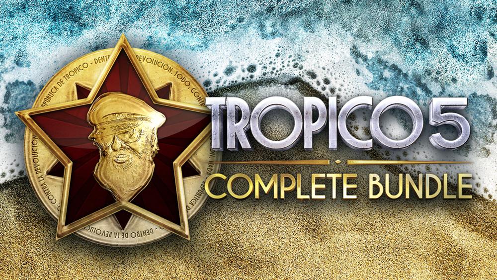 Забираем Tropico 5 со всеми дополнениями за 755 рублей