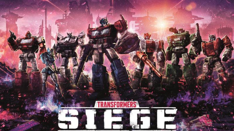 Netflix опубликовали постеры «Трансформеры: Война за Кибертрон: Осада»