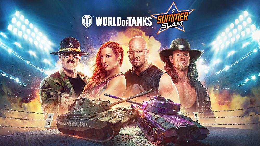 В консольной версии World of Tanks начался новый сезон с рестлерами из WWE и кроссплеем