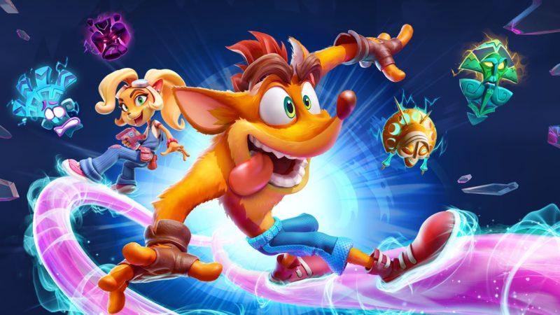 В сети появилось почти 12 минут геймплея Crash Bandicoot 4