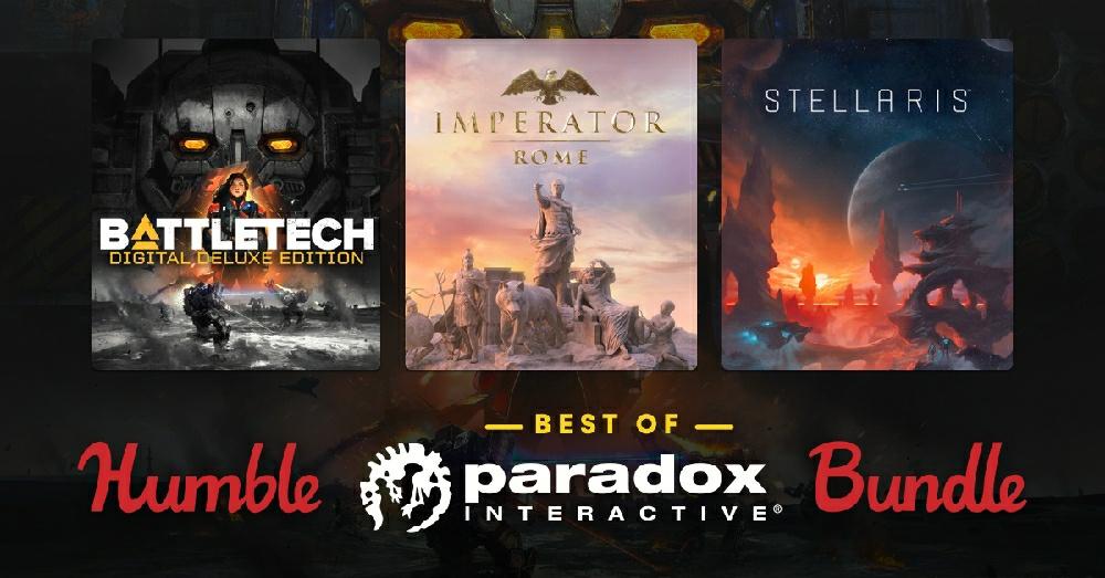На Humble Bundle продают набор игр Paradox Interactive