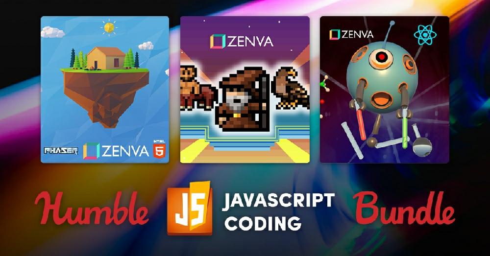 На Humble Bundle новая подборка для изучающих JavaScript
