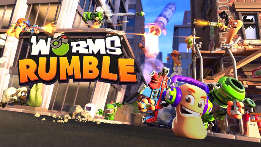 Team 17 представляет совершенно новых червяков – Worms Rumble