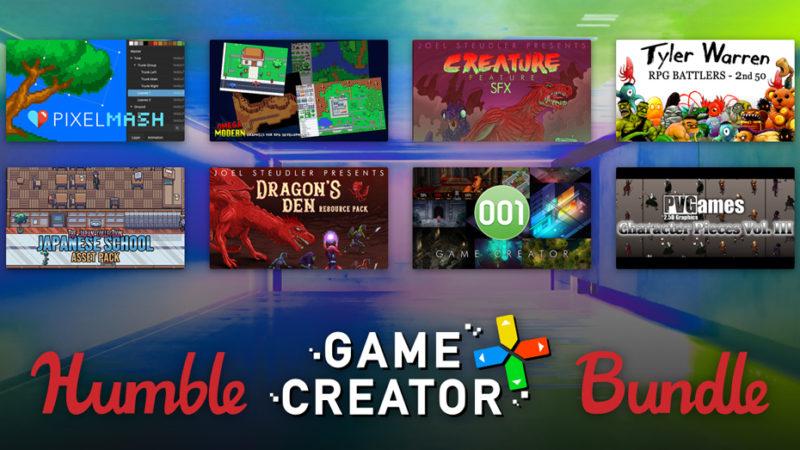 Новый набор для разработки игры вашей мечты на Humble Bundle
