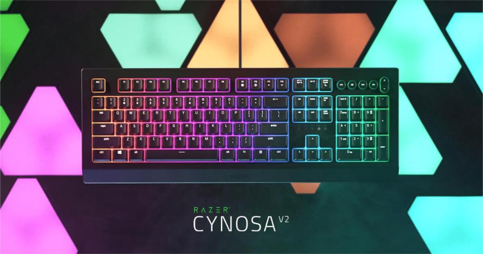 Razer представила клавиатуру Cynosa V2