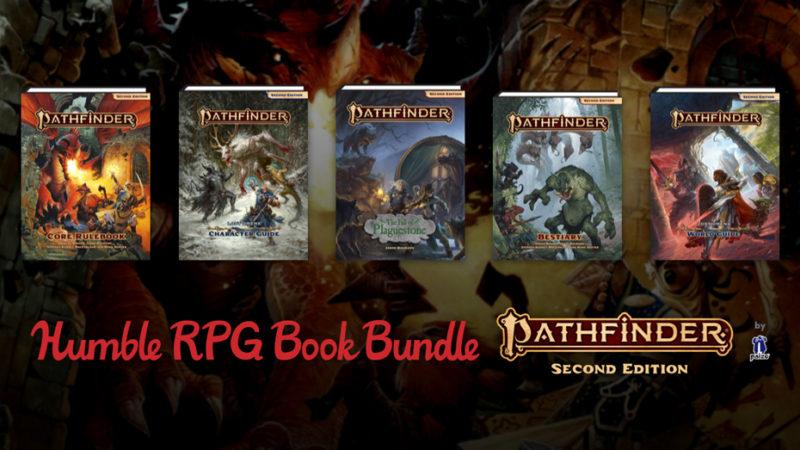 На Humble Bundle продают набор для настольной игры Pathfinder