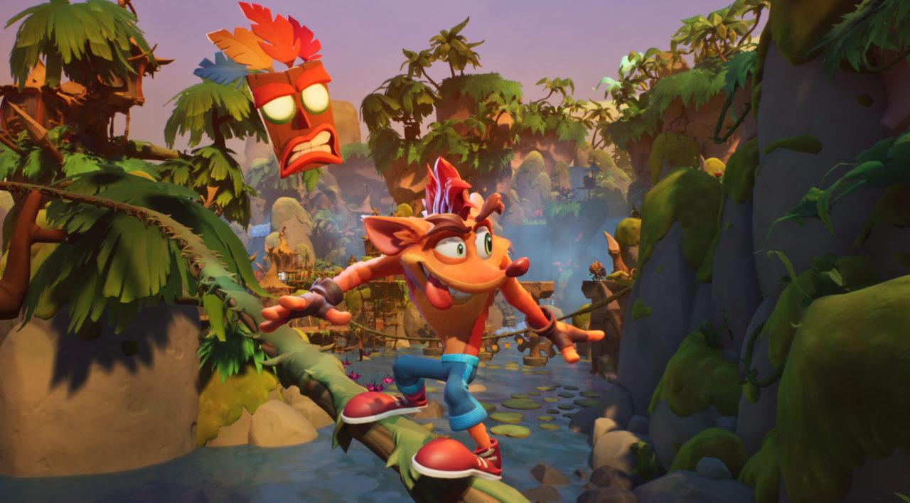 Activision анонсировала мобильную Crash Bandicoot