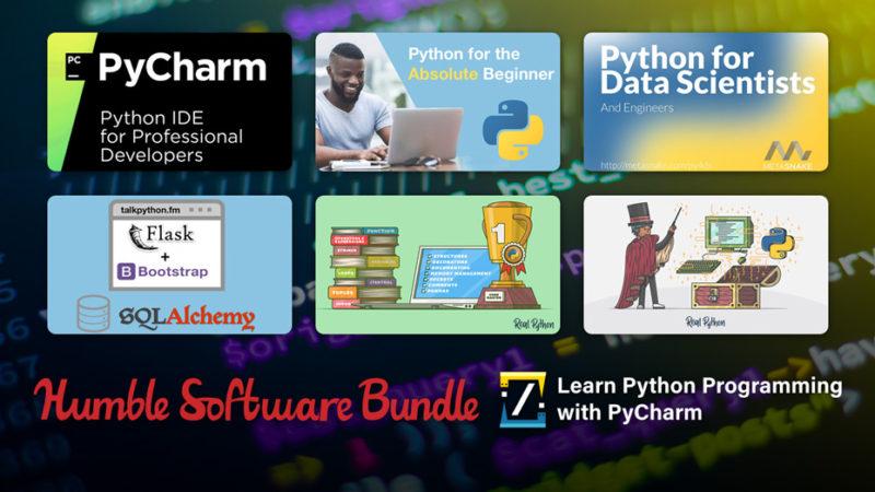В Humble Bundle продают набор для изучения Python