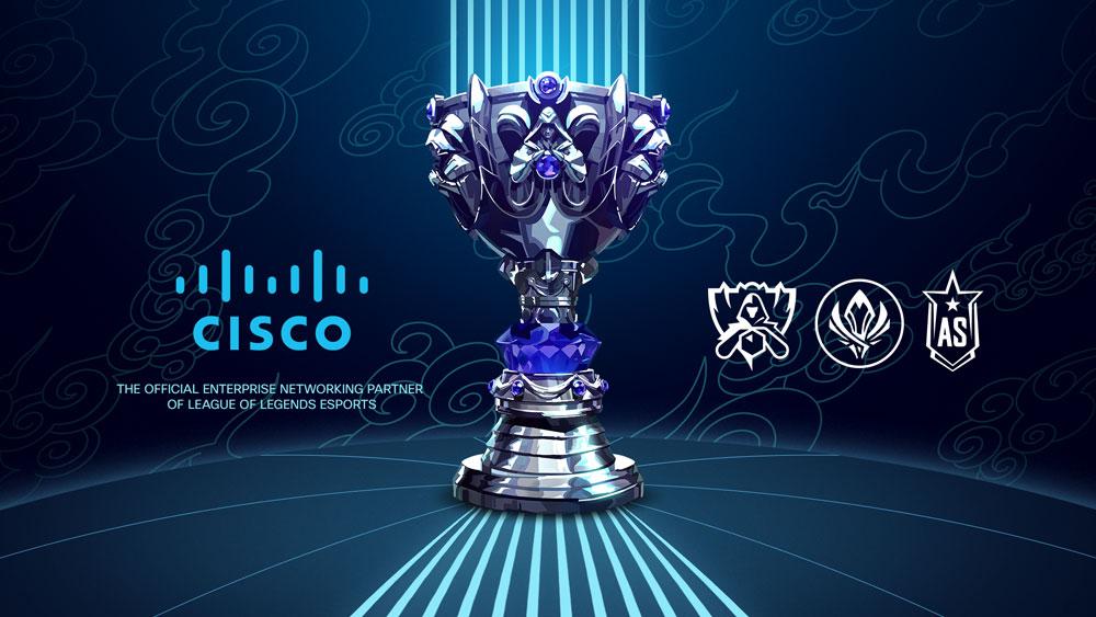 Cisco становится партнером LoL Esports